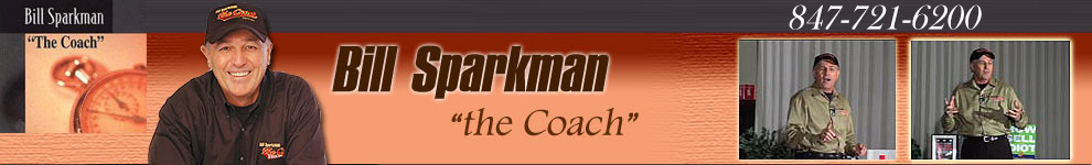 Bill Sparkman, Sales and Marketing Trainer, Coach, Motivational Speaker, and Author